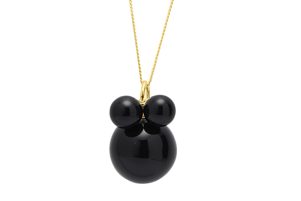 pearl-01-01 gold plated Black