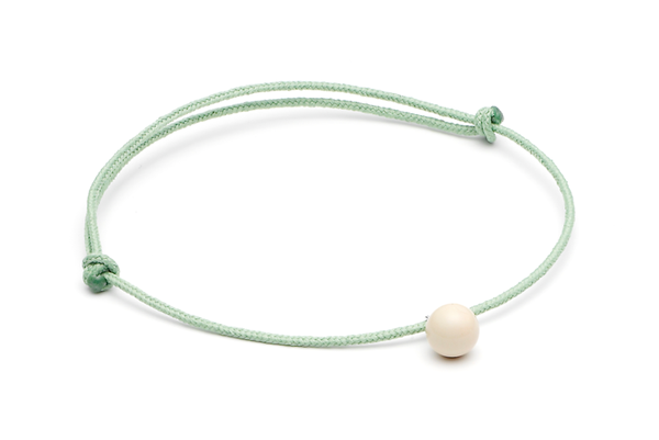 mini pearl-02-01 Light Green cord Cashmere