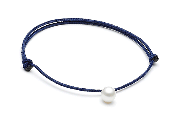 Fwpearl-02-01 Dark Blue cord FwWhite