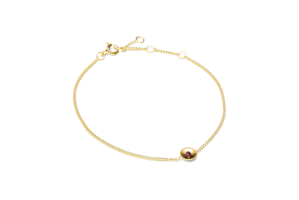 Embrace-02-03 gold plated Ruby