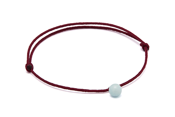 mini pearl-02-01 Bordeaux cord Blue Sky