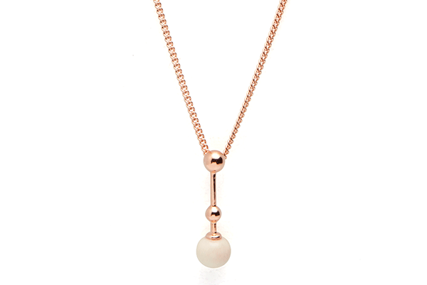 Sphere-01-01 rose gold plated Cashmere