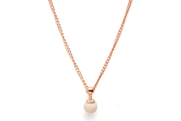 Sphere-01-02 rose gold plated Cashmere