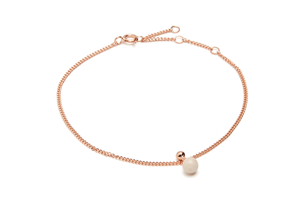 Sphere-02-03 rose gold plated Cashmere