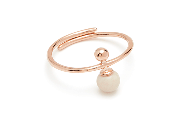 Sphere-04-03 rose gold plated Cashmere