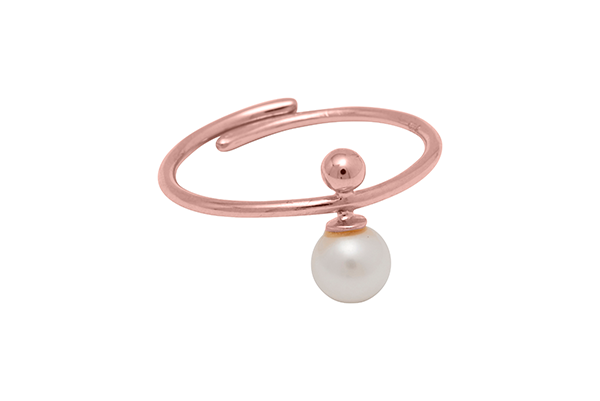 Sphere-04-03 rose gold plated FwWhite