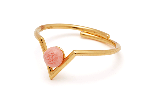 Inbetween-04-01 gold plated Pink Coral