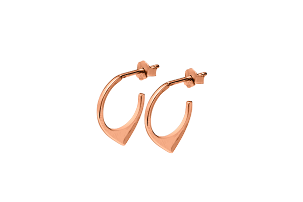 Triangle-03-03 rose gold plated None