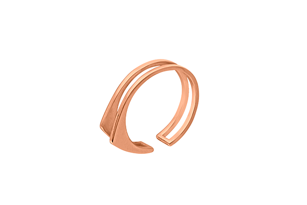 Triangle-04-01 rose gold plated None