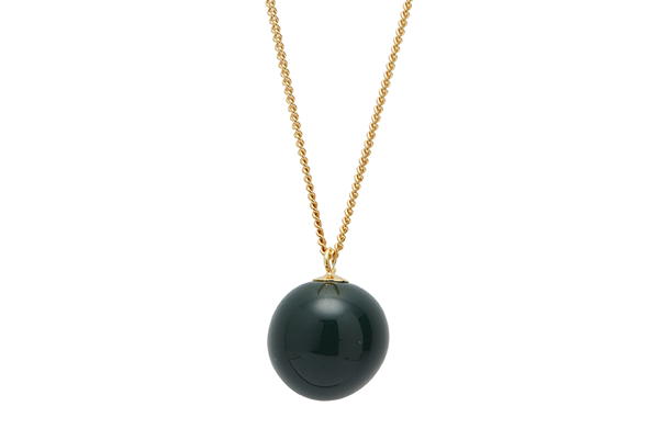 pearl-01-02 gold plated Dark Green