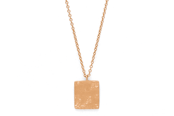 Structure-01-02 rose gold plated None