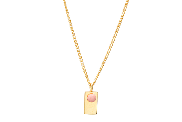 Point-01-02 gold plated Pink Coral mat